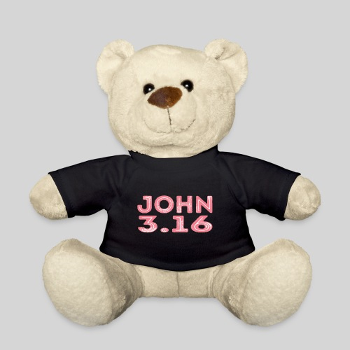 Johannes 3 Vers 16 Bibelversdesign - Teddy