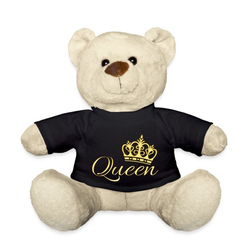 Queen Or -by- T-shirt chic et choc - Nounours
