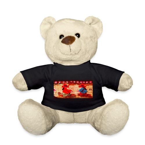 Dos Paisanitas tejiendo telar inka - Teddy