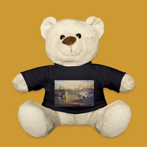 White Fishing - Mark Noble Art - Teddy Bear