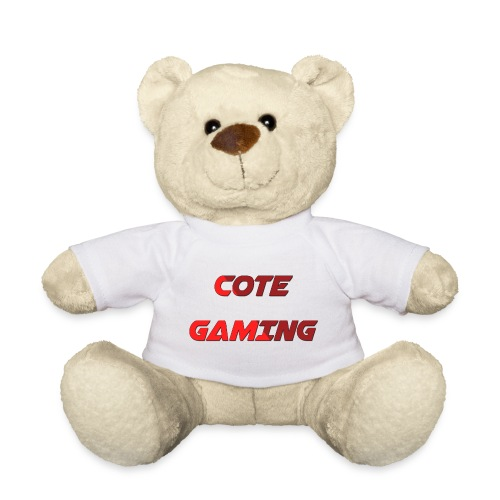 Cote Sweater Rode Letters - Teddy Bear