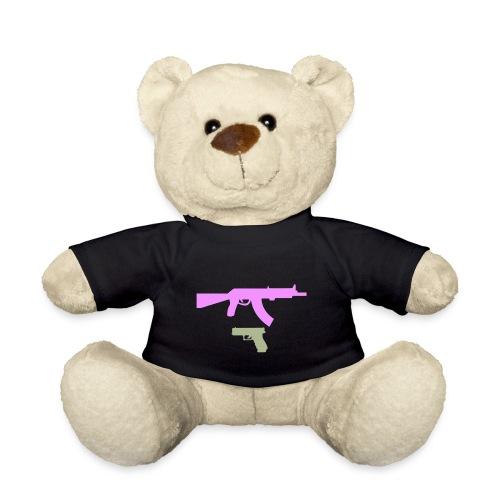 PINK GUN - Miś w koszulce