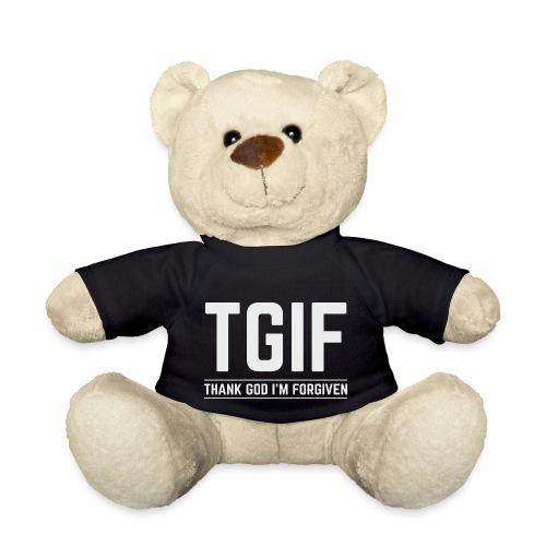 TGIF - Dzięki Bogu, wybaczono mi - Miś w koszulce