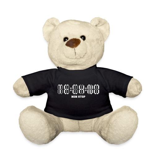Techno Non Stop Digital Uhr - all night all day - Teddy