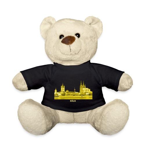 Köln Dom Rhein Nordrhein-Westfalen Deutschland - Teddy