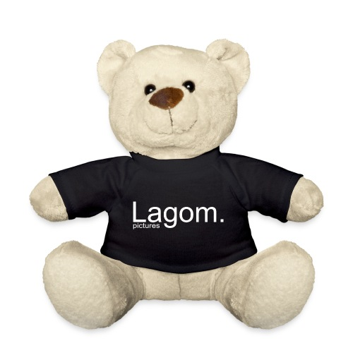 Lagom Pictures Logo Light - Teddy Bear