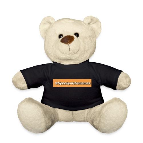 Orange Spookynichememes - Teddy Bear