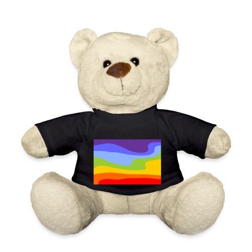 Hintergrund Regenbogen Fluss - Teddy