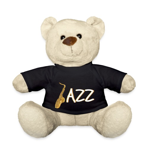 JAZZ Saxophon Saxofonist Shirt Geschenk - Teddy