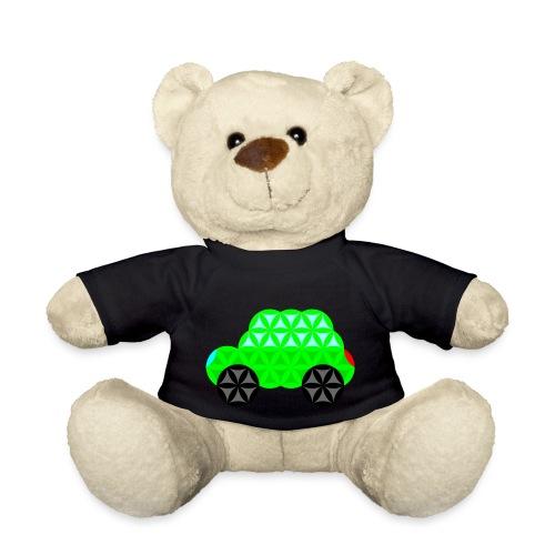 The Car Of Life - M01, Sacred Shapes, Green/R01. - Teddy Bear