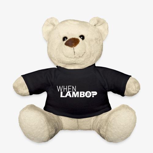 HODL-when lambo-w - Teddy Bear