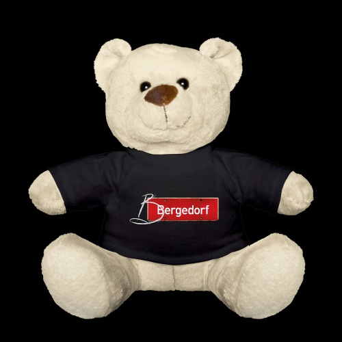 HAMBURG Bergedorf Ortsschild mit Initial - Teddy