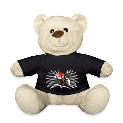 Love, Peace and Hope - Liebe, Frieden, Hoffnung - Teddy