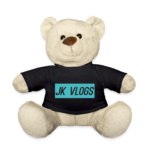 JK Vlogs Logo 2 - Teddy Bear