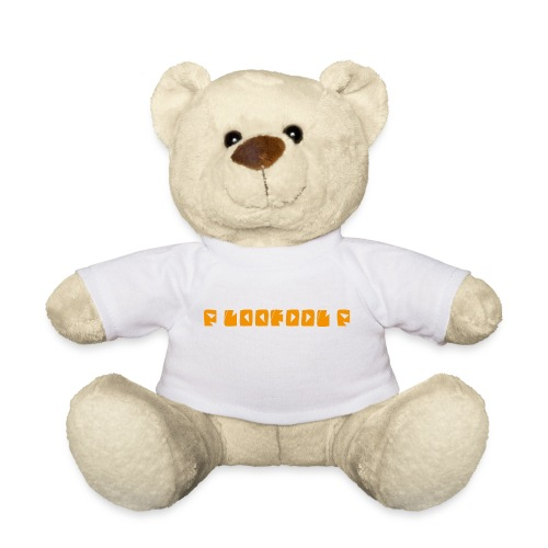 P loofool P - Orange logo - Teddybjørn