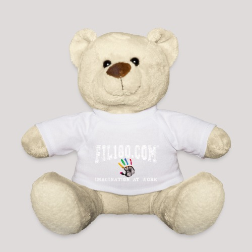 FIL180 Hoody WHITE - Teddy Bear