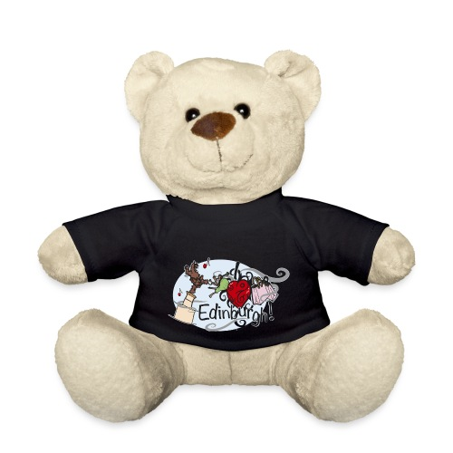 I love Edinburgh - Teddy Bear