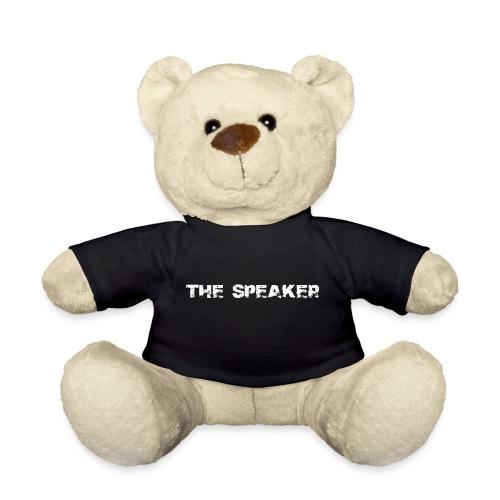 the speaker - der Sprecher - Teddy