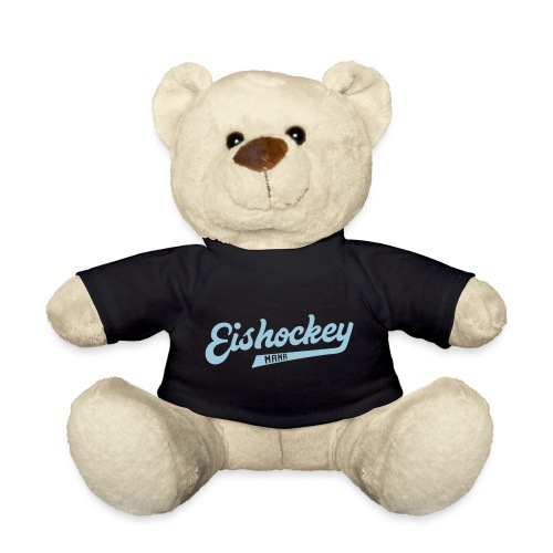 Eishockey Mama, Hockey Mum Sports Style Text - Teddy Bear