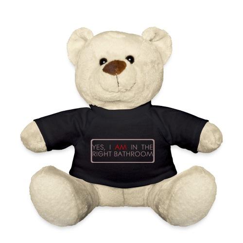 right_bathroom - Teddy Bear