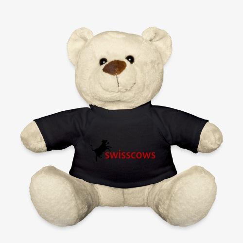 Schwarz-Rot Hoodie - Teddy