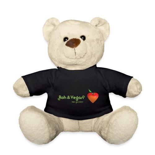 Roh & Vegan rotes Apfelherz (Rohkost) - Teddy