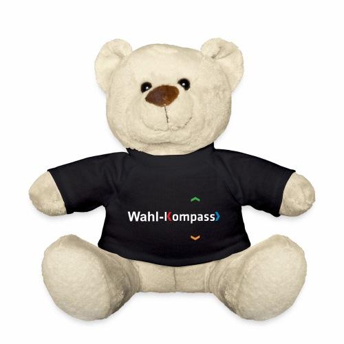 Wahl-Kompass Logo weiß - Teddy