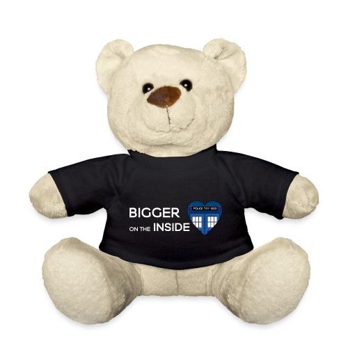 Tardis Heart - Teddy Bear