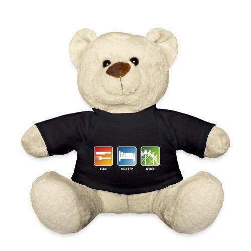 Eat, Sleep, Ride! - T-Shirt Schwarz - Teddy