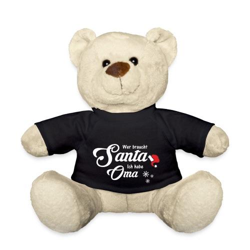 Wer braucht Santa ich habe Oma - Teddy
