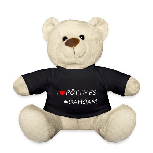 I ❤️ PÖTTMES #DAHOAM - Teddy