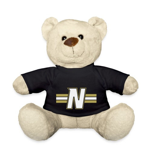 White N with stripes - Teddy Bear