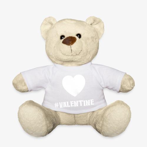 Hashtag Valentine Woman - Teddy