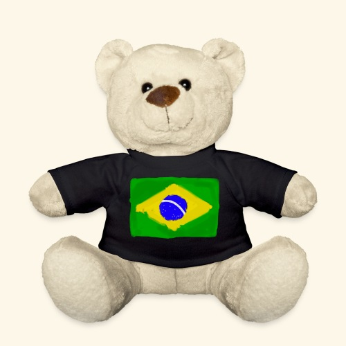 Brazilian flag InWatercolours - Nallebjörn