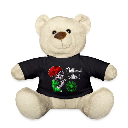 Chill old age, smoke weed everyday, vintage - Teddy Bear