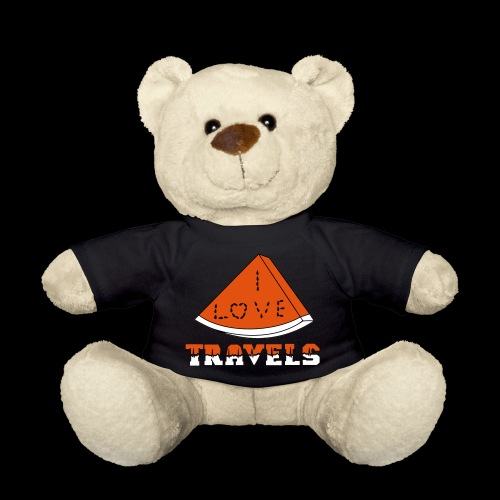 I LOVE TRAVELS FRUITS for life - Teddy Bear