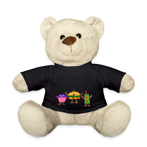Fast food figures - Teddy Bear