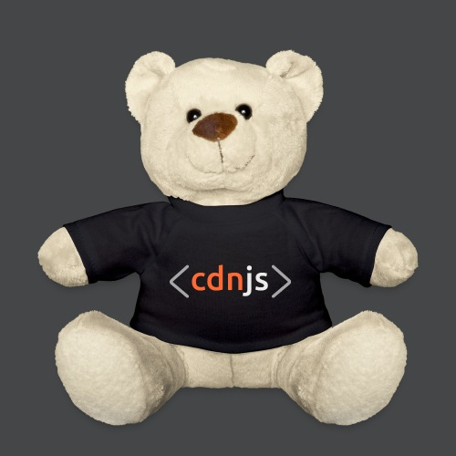 cdnjs Light Logo (Accessories) - Teddy Bear