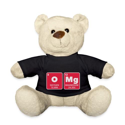 periodic table omg oxygen magnesium Oh mein Gott - Teddy Bear