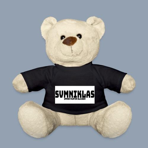 svmniklas - Leitspruch mit weißen Hintergrund - Teddy