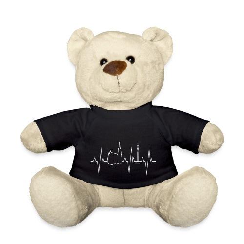 Wien Vienna Herzschlag Shirt Geschenk - Teddy