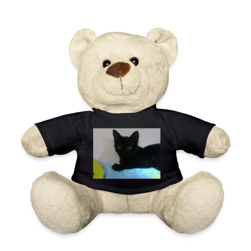 gato negro - Osito de peluche