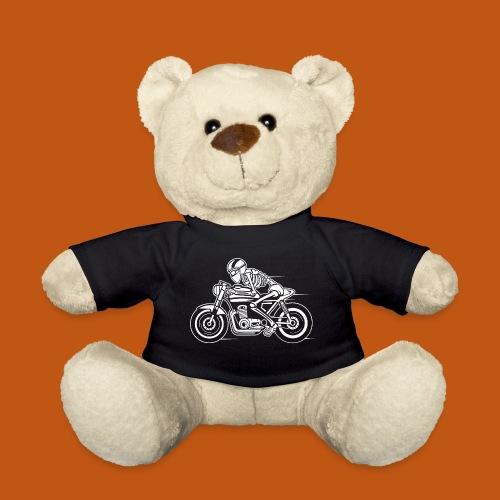 Cafe Racer Motorrad 05_weiß - Teddy