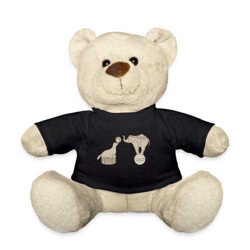 Circus elephant and seal - Teddy Bear