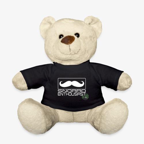 Snorro enthusiastic (white) - Teddy Bear