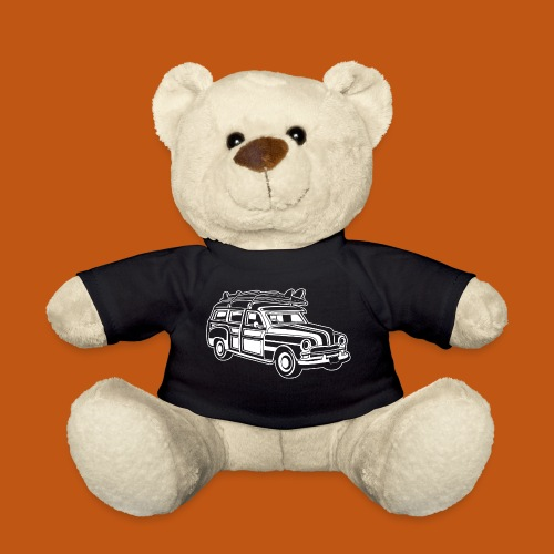 Chevy Cadilac Woodie / Oldtimer Kombi 01_weiß - Teddy
