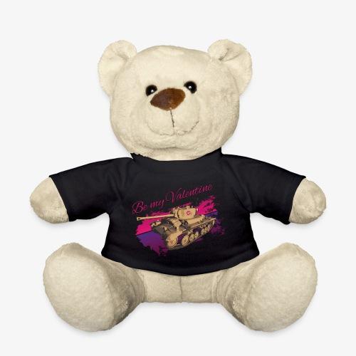 Be my Valentine Tank - Teddy