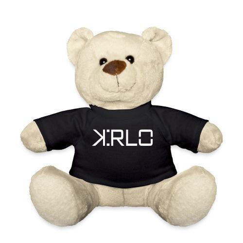 Kirlo Logo Blanco - Osito de peluche