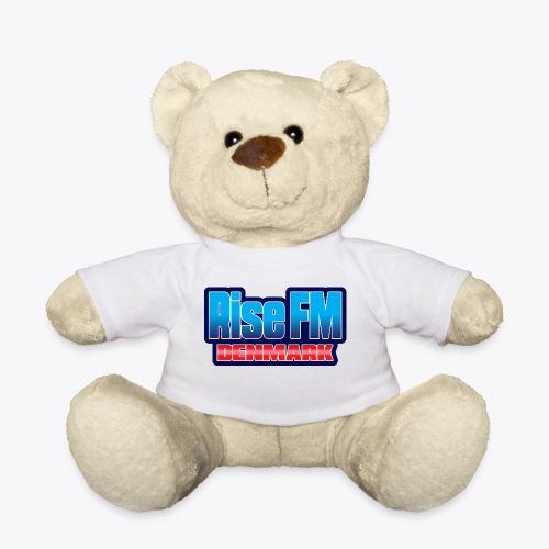 Rise FM Denmark Text Only Logo - Teddy Bear