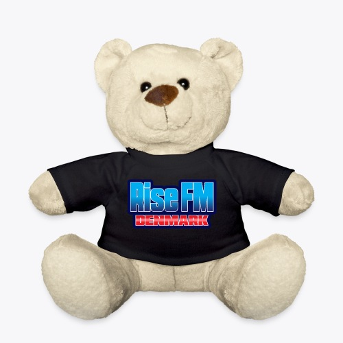 Rise FM Denmark Text Only Logo - Teddy Bear